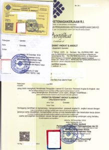 Jasa Pembuatan SIO Forklift Bekasi