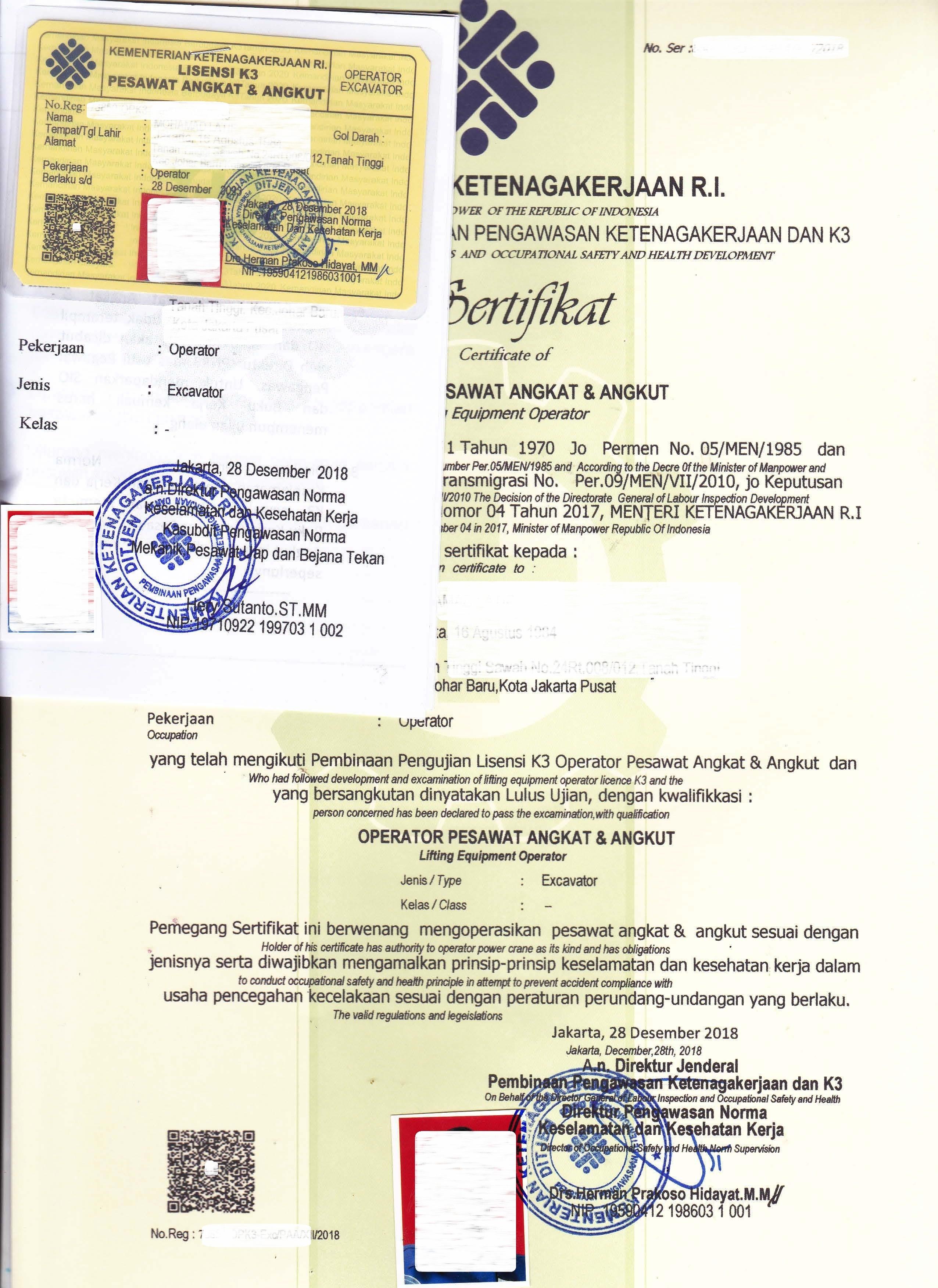 Peraturan Surat Izin Layak Operasi Alat Berat - Dapatkan ...